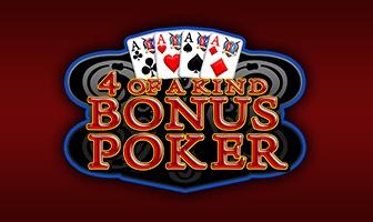 EGT - 4 of a kind bonus poker
