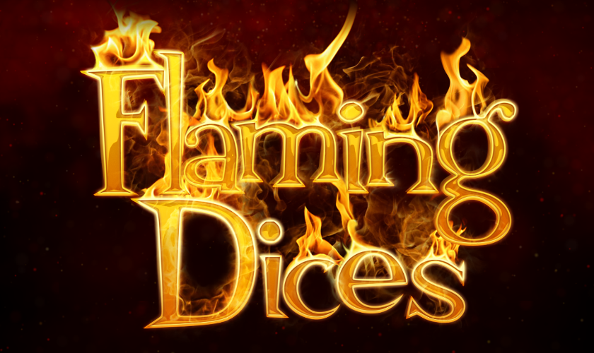 eGaming - Flaming Dices